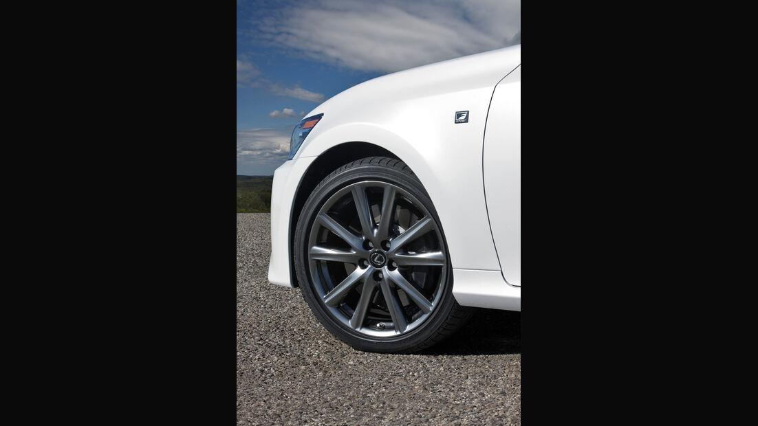 Lexus GS 450h, Rad, Felge