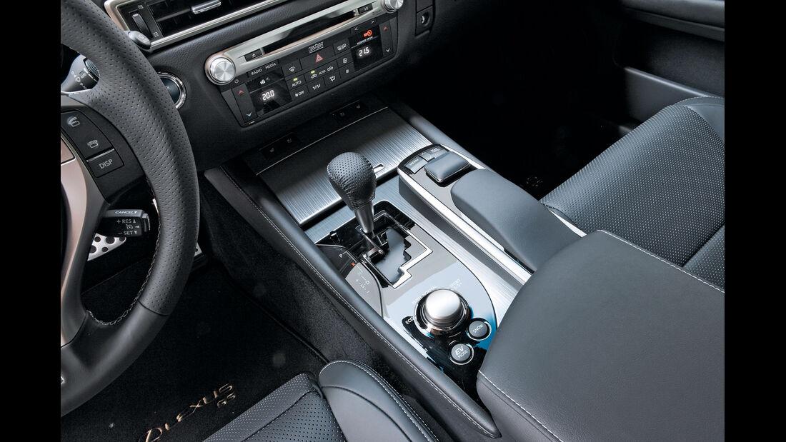 Lexus GS 450h, Schalthebel, Gangschaltung