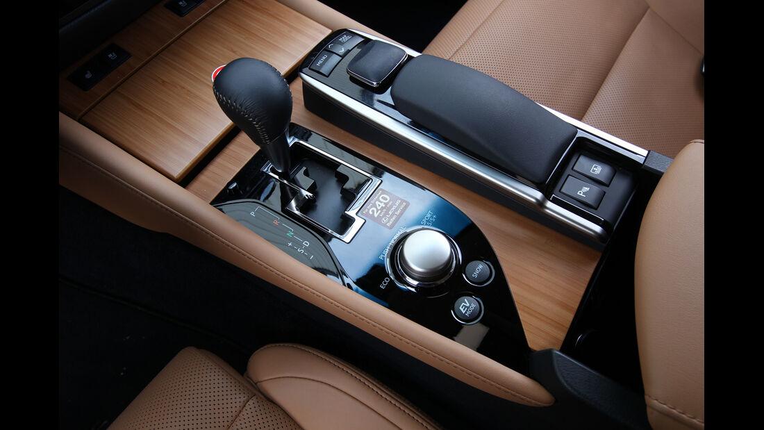 Lexus GS 450h, Schalthebel, Schaltknauf