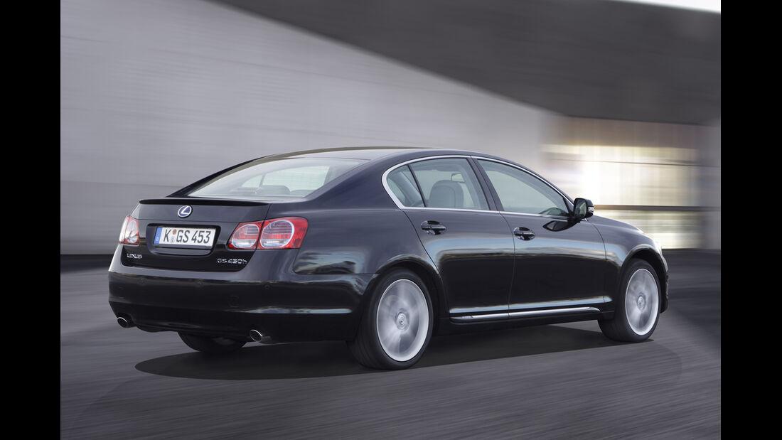 Lexus GS 450h, Seitenansicht