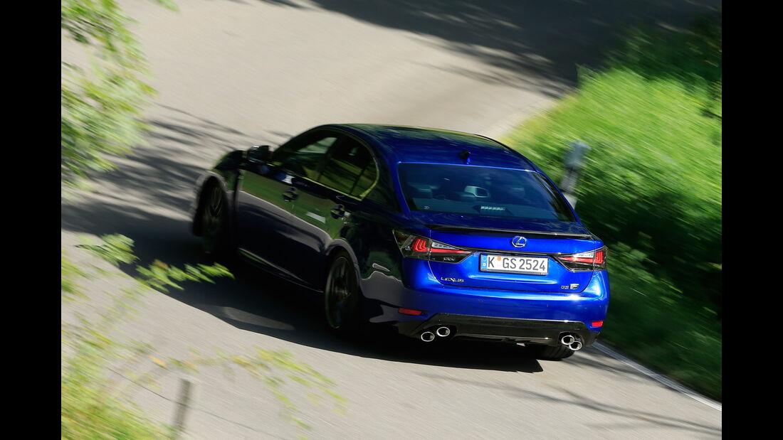 Lexus GS F, Heckansicht