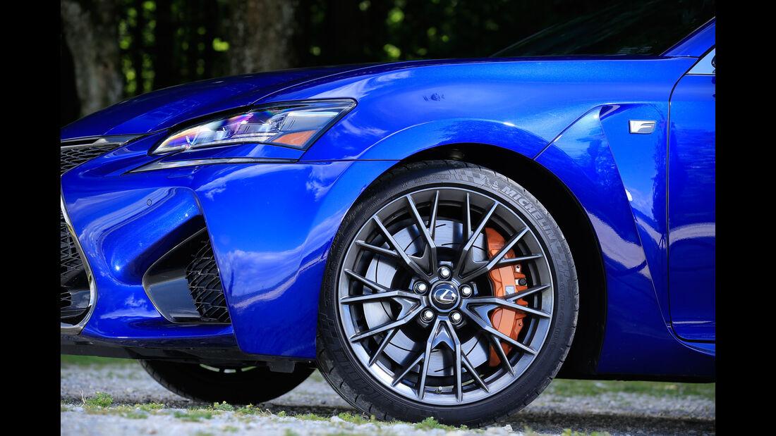 Lexus GS F, Rad, Felge