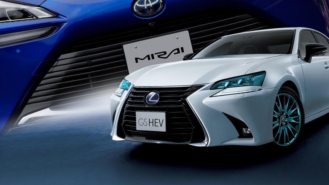 Lexus GS HEV Wasserstoff Mirai Technik Spekulation