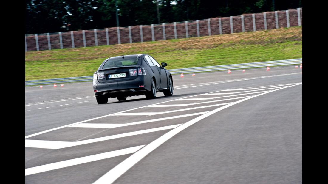 Lexus GS Hybrid, Heck, Rückansicht