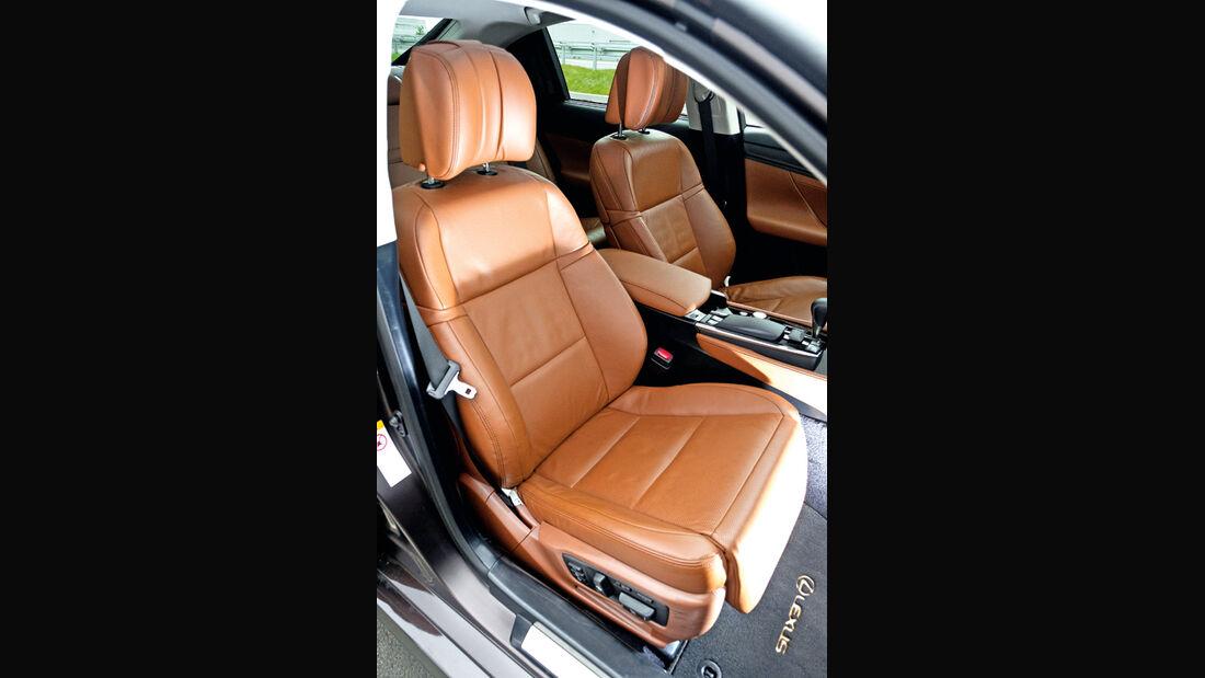 Lexus GS Hybrid, Sitz, Ledersitz