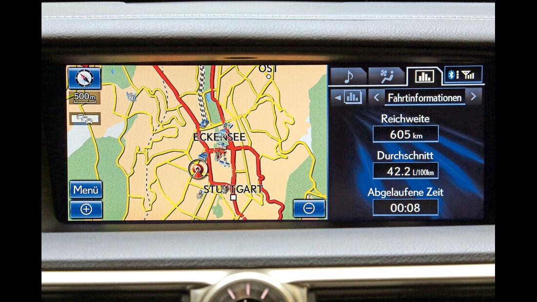 Lexus GS, Infotainment