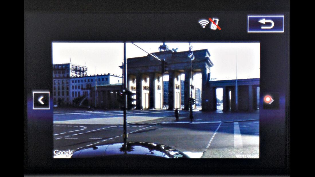 Lexus, Google-Streetview