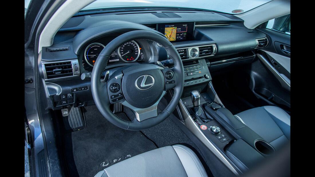 Lexus IS 300h, Rundinstrumente