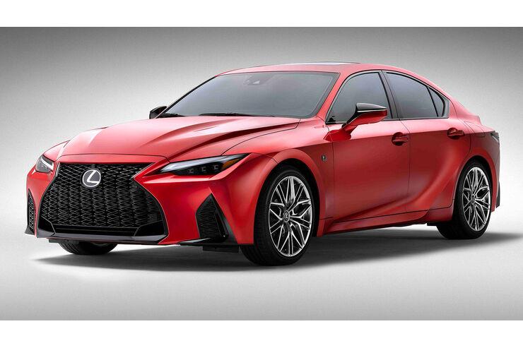 Lexus IS 500 F Sport Performance mit 478-Saugmotor-PS - auto motor und sport