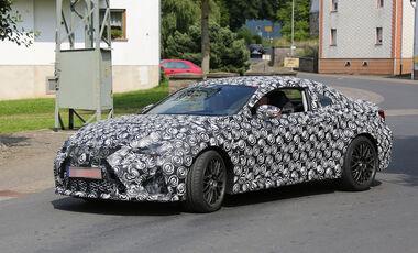 Lexus IS Coupé IS-F Erlkönig
