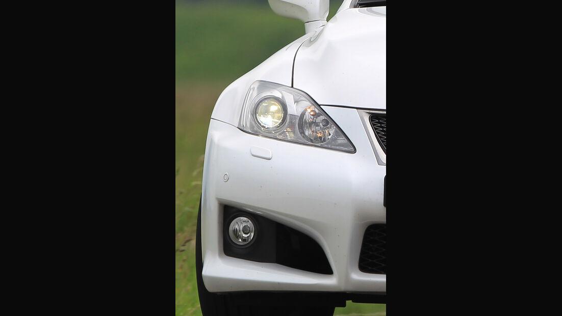 Lexus IS-F, Sportwagen, Detail, Scheinwerfer