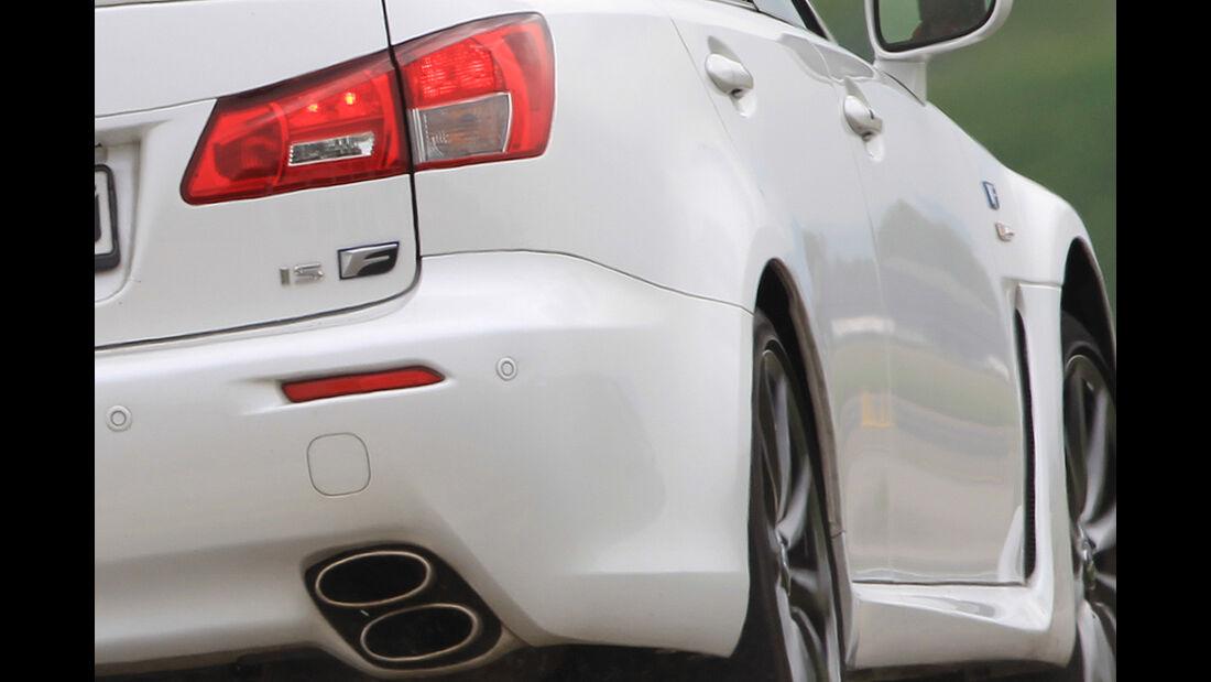 Lexus IS-F, Sportwagen, Heck, Auspuff