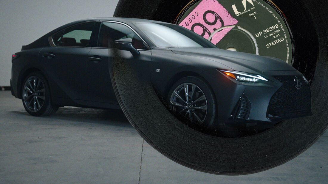 Lexus IS Wax Plattenspieler MC Madlib Concept