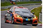 Lexus ISF CCS-R - Lexus Racing - Startnummer: #54 - Bewerber/Fahrer: Helmut Baumann, Horst Baumann, Lorenz Frey, Fredy Barth - Klasse: SP8