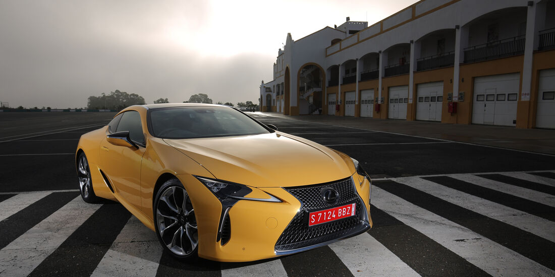Lexus LC 500, Frontansicht