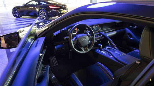 Lexus LC 500, Interieur