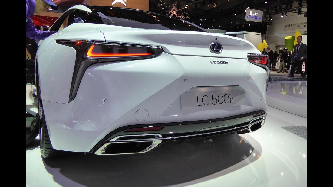Lexus LC 500h - Auspuff - IAA Frankfurt 2017
