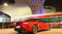 Lexus LC 500h, Heckansicht