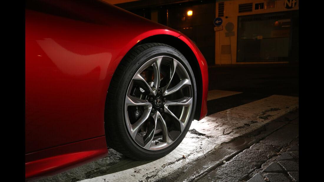 Lexus LC 500h, Rad, Felge