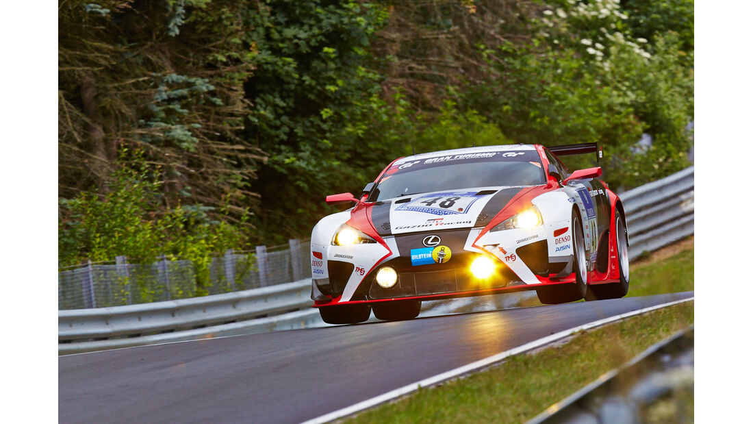Lexus LF-A - Gazoo Racing - 24h-Rennen Nürburgring 2014 - Top-30-Qualifying