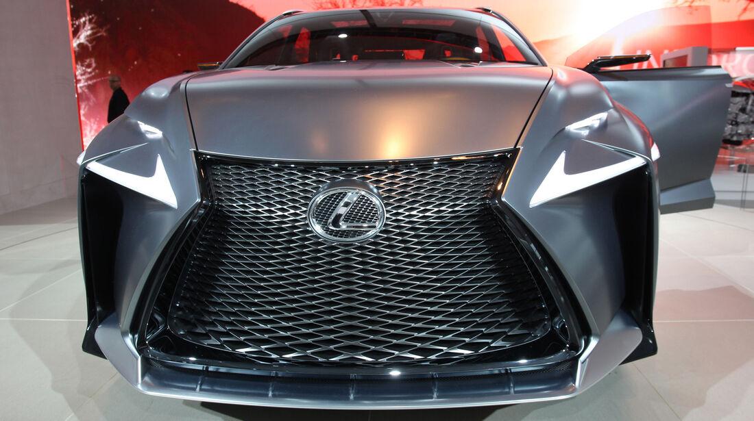 Lexus LF-NX - Detroit Auto Show 2014
