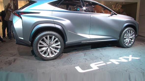 Lexus LF-NX, IAA