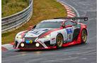"Lexus LFA - Gazoo Racing - Startnummer: #48 - Bewerber/Fahrer: Takayuki Kinoshita, Hiroaki Ishiura, Kazuya Oshima, ""Morizo"" - Klasse: SP8"