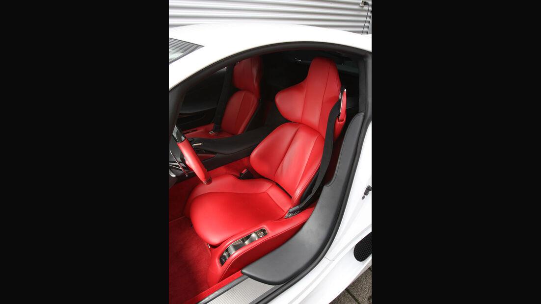 Lexus LFA, Innenraum, Sitze