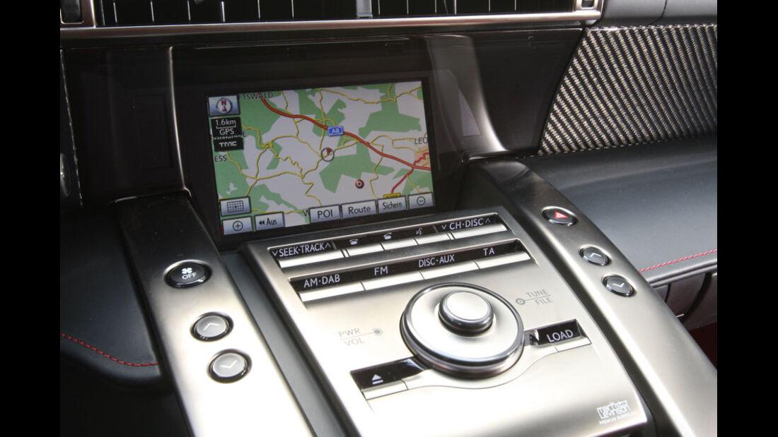 Lexus LFA, Navigationssystem