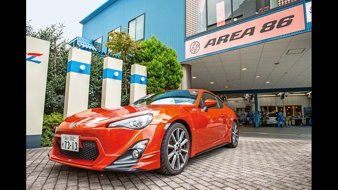 Lexus LFA Nürburgring Edition, Area 86