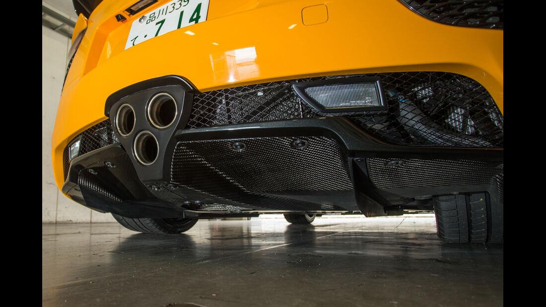 Lexus LFA Nürburgring Edition, Auspuff, Endrohre