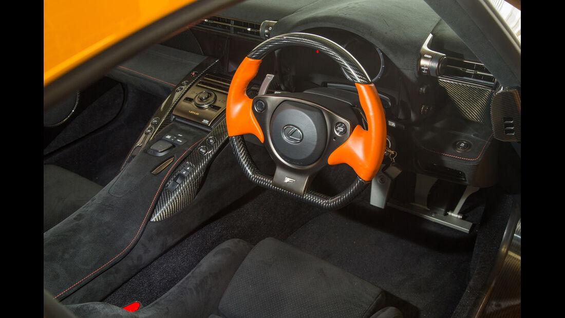 Lexus LFA Nürburgring Edition, Cockpit, Lenkrad