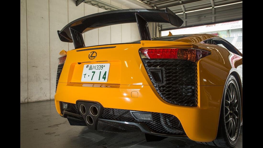 Lexus LFA Nürburgring Edition, Heckspoiler