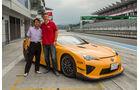Lexus LFA Nürburgring Edition, Jens Dralle, Haruhiko Tanahashi