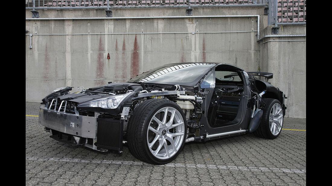 Lexus LFA Nürburgring-Paket, Body