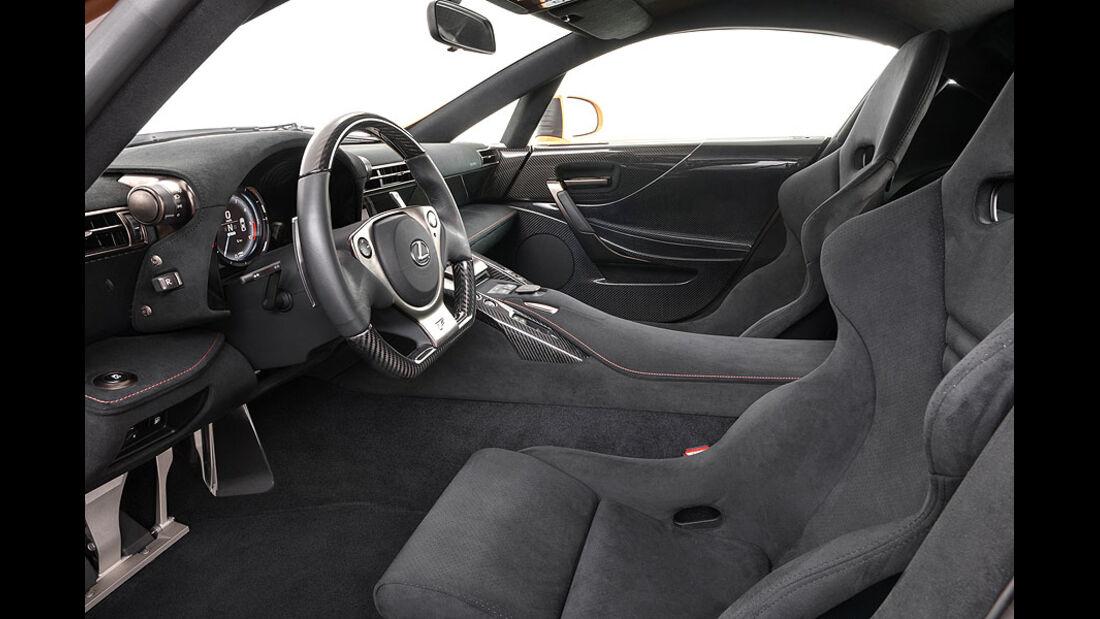Lexus LFA Nürburgring-Performance-Paket, Innenraum, Detail