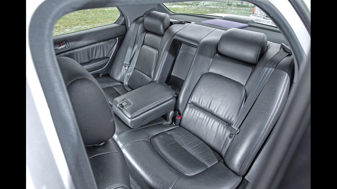 Lexus LS 400, Fondsitze, Beinfreiheit