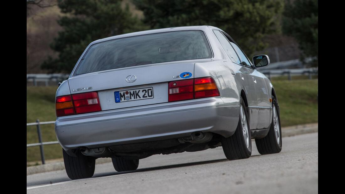 Lexus LS 400, XF10/XF20, Heckansicht