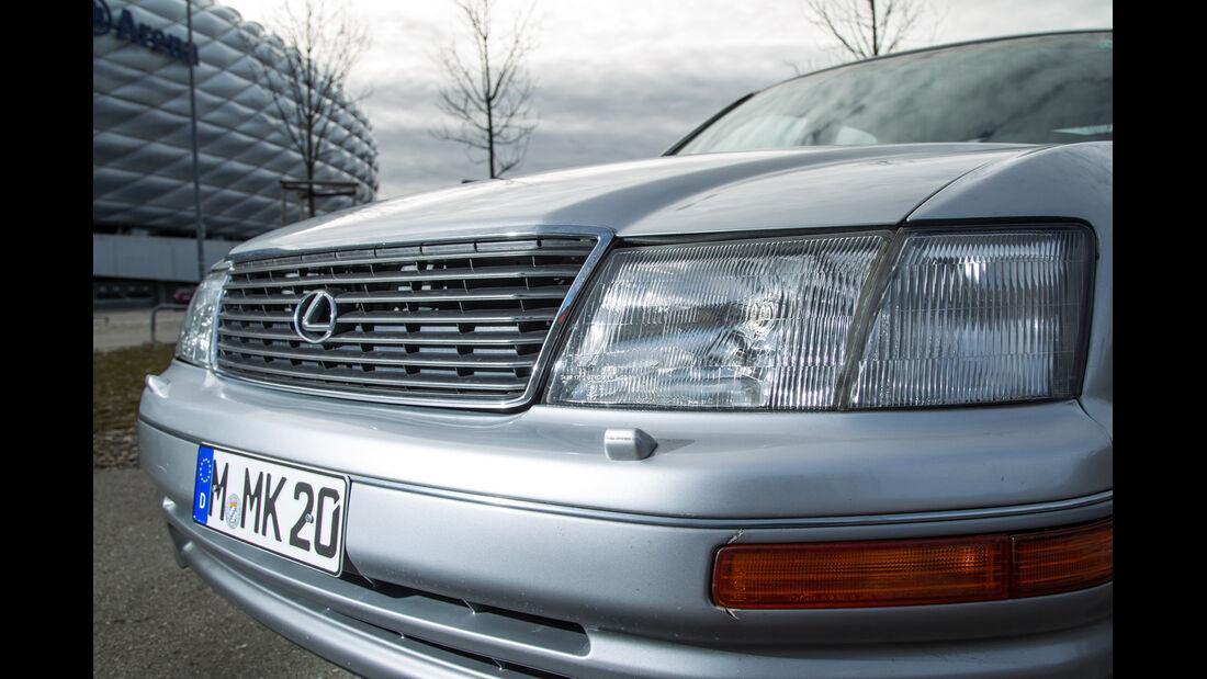 Lexus LS 400, XF10/XF20, Kühlergrill