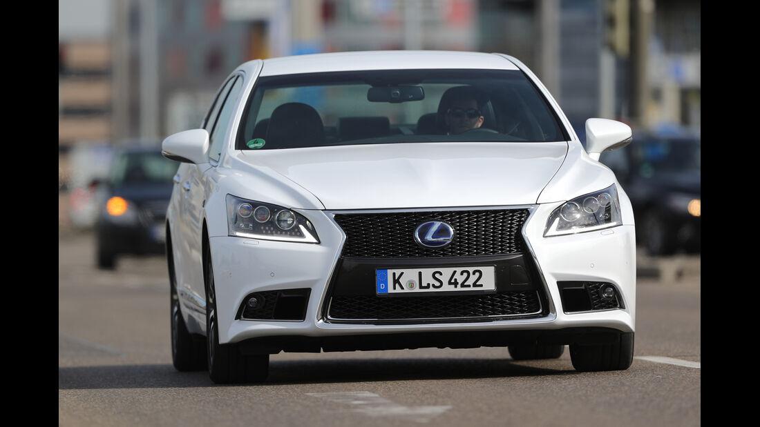 Lexus LS 600h F-Sport, Frontansicht