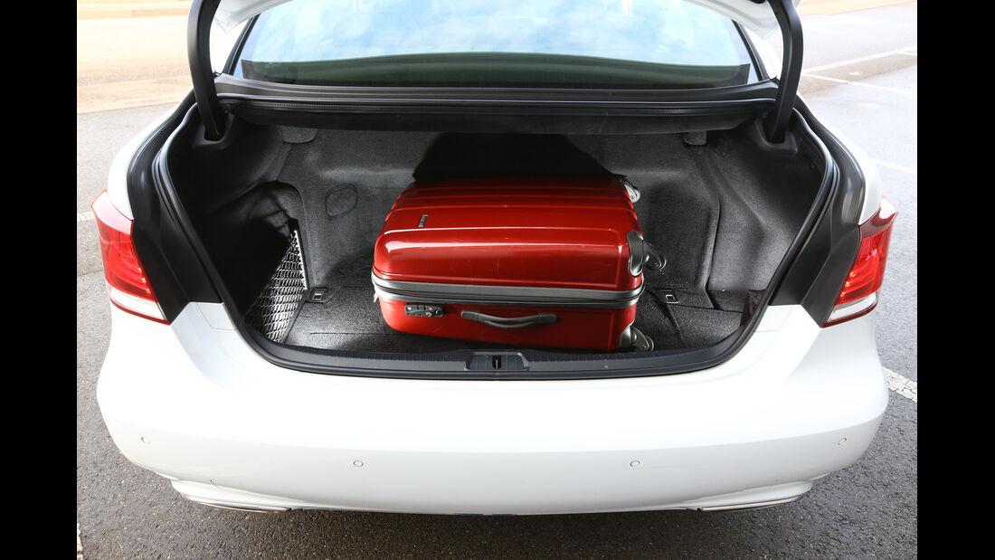 Lexus LS 600h F-Sport, Kofferraum