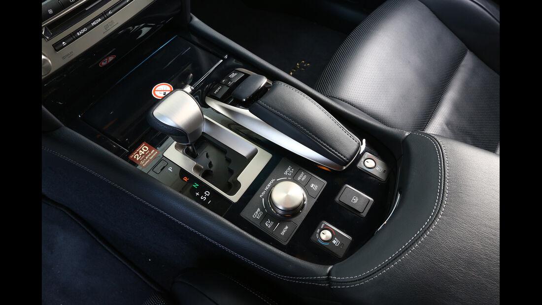 Lexus LS 600h F-Sport, Schalthebel, Schaltknauf