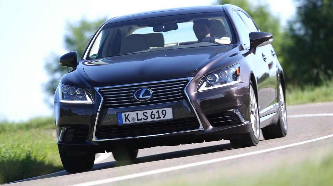 Lexus LS 600h L, Frontansicht