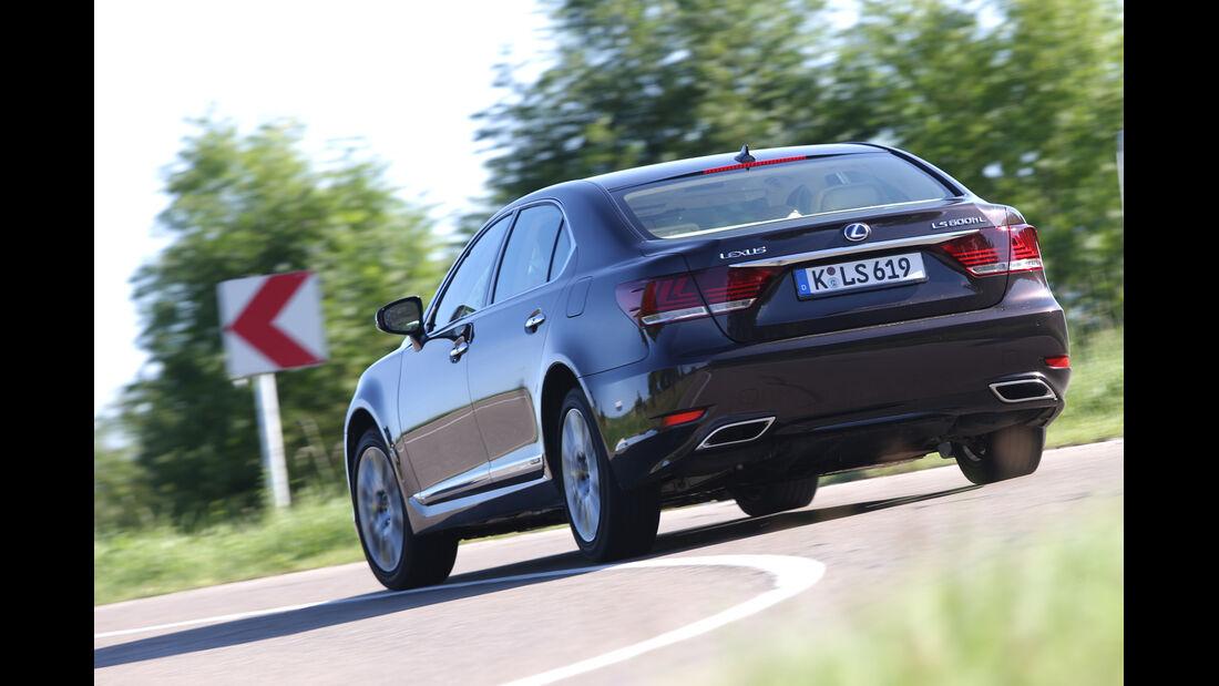 Lexus LS 600h L, Heckansicht