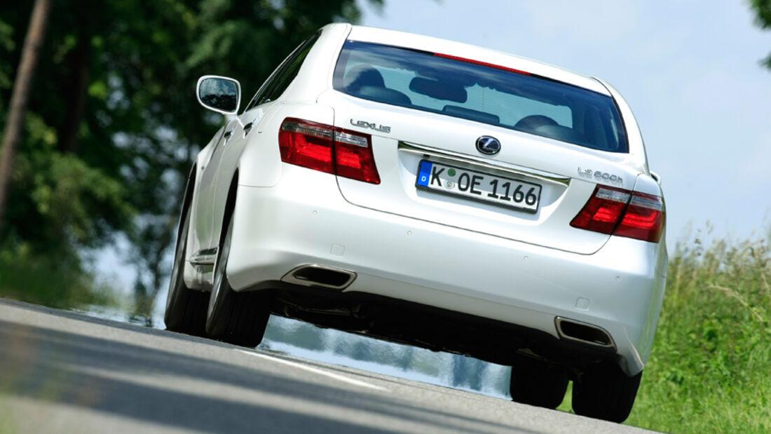 Lexus LS 600h, Rückansicht, Heck