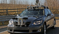 Lexus LS CES 2013 autonomes fahren