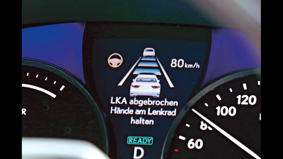 Lexus LS, Display, Infotainment