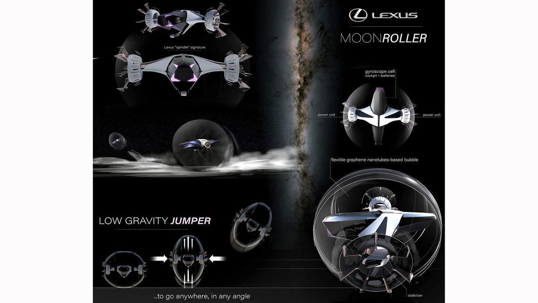 Lexus Lunar Bouncing Moon Roller
