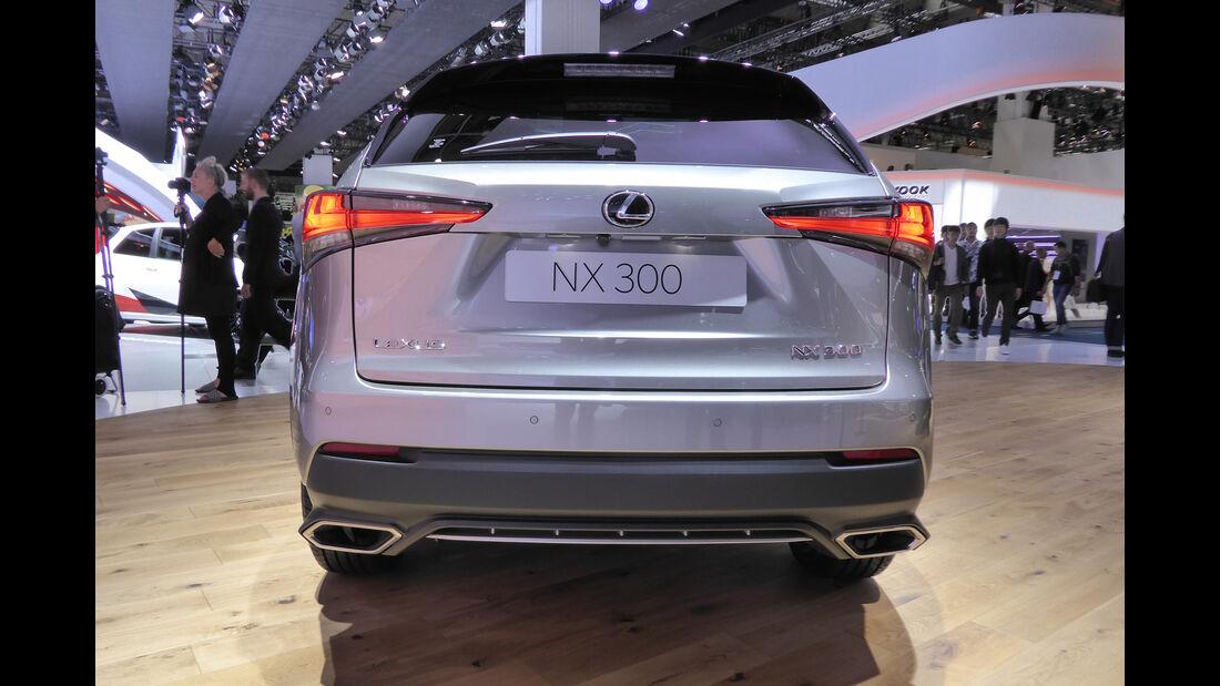 Lexus NX 300 - Auspuff - IAA Frankfurt 2017