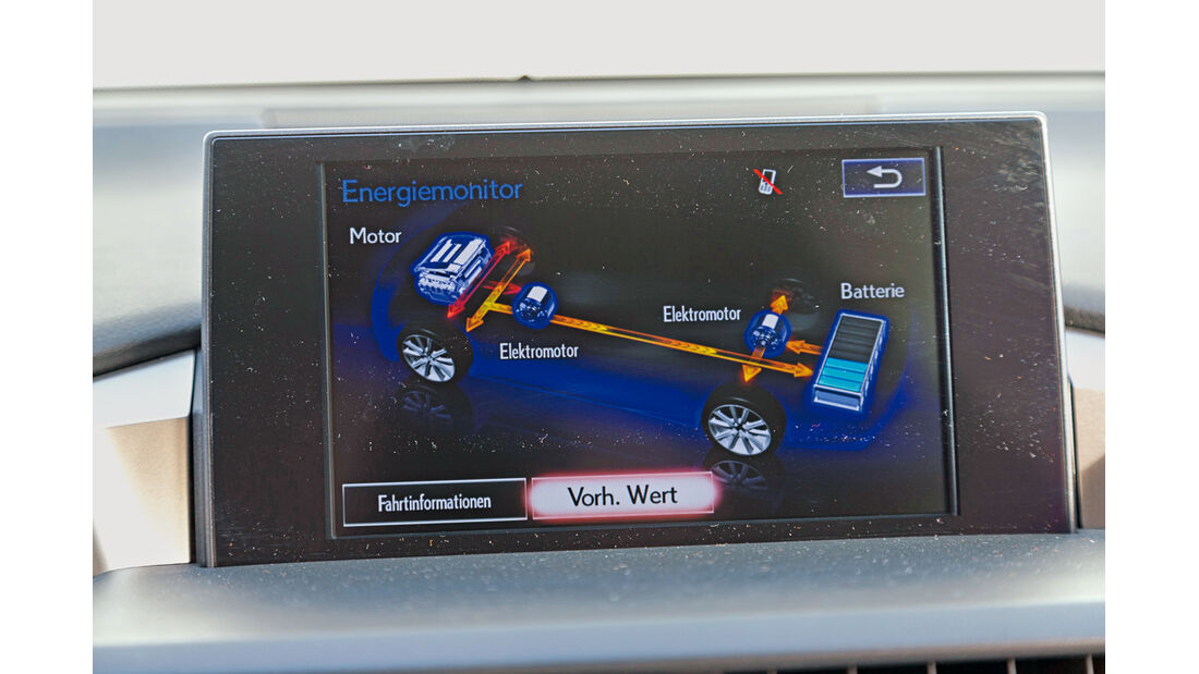 Lexus NX 300h E-Four F SPORT, Display, Infotainment